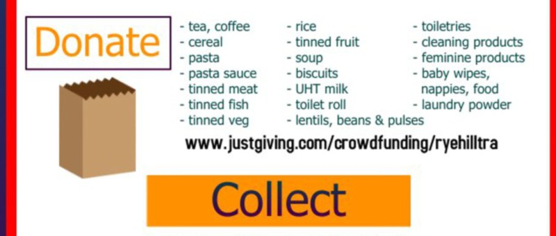 List of suggested food bank donations